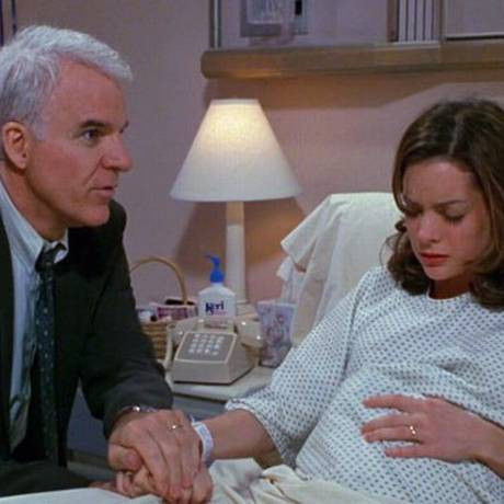 Cena do filme 'O pai da noiva — Parte 2': pesquisa mostrou que pais de meninas são mais protetores com elas, respondendo mais a seus apelos e emoções Foto: Divulgação