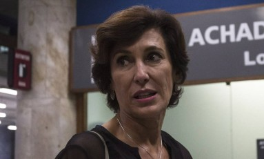 PA Rio de Janeiro (RJ) 26/05/2017 - Maria Silvia chega ao Rio de Janeiro no aeroporto Santos Dumont vinda de BrasÃlia após Foto: Alexandre Cassiano / Agência O Globo
