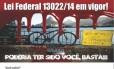 Panfleto distribuído pela Guarda Municipal Foto: Divulgação