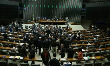 Câmara dos Deputados. Foto: Jorge William /Agência O Globo