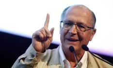 """O governador Geraldo Alckmin participou do seminário """"Eficiência na Gestão Pública"""", promovido pela prefeitura paulistana Foto: Edilson Dantas"""