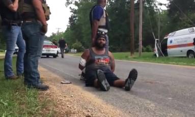 Cory Godbolt é suspeito de matar 8 pessoas, incluindo um policial Foto: REPRODUÇÃO/Clarion-Ledger