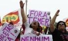 Protesto se concentra em Copacabana Foto: Pablo Jacob / Pablo Jacob