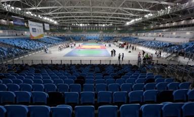 Arena Carioca 3, antes da realização dos Jogos Olímpicos Foto: Beth Santos / Agência O Globo