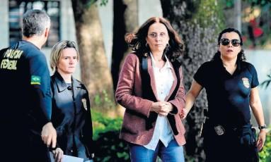 Andrea Neves foi presa em operação da PF Foto: Cristiane Mattos / REUTERS