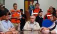 Temer se reuniu com técnicos para saber a dimensão dos estragos provocados pelas enxurradas em Alagoas Foto: Presidência da República