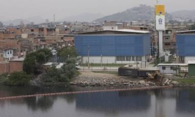 O Complexo da Maré, onde a Polícia Militar faz uma operação Foto: Márcia Foletto / Agência O Globo
