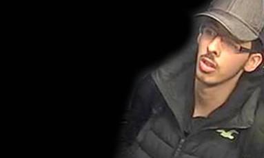 Imagem mostra Abedi na noite do atentado a Manchester, no Reino Unido; homem-bomba se explodiu durante show de Ariana Grande Foto: AP