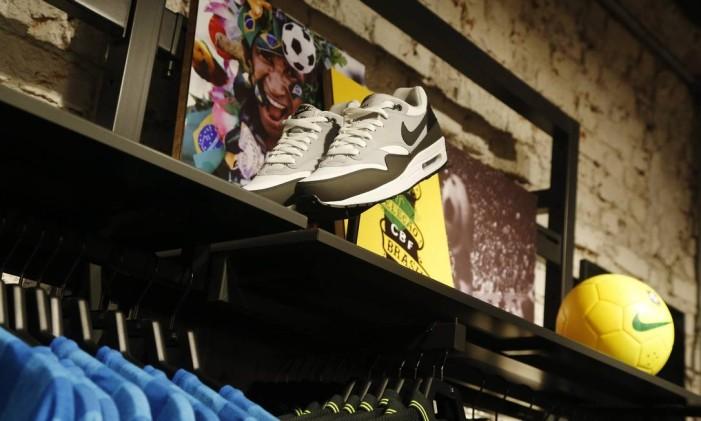 Loja da Nike em Copacabana Foto: Ana Branco / Agência O Globo