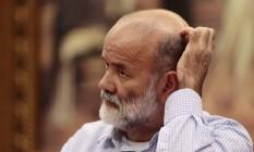 João Vaccari Neto, ex-tesoureiro do PT, em depoimento na CPI dos Fundos de Pensão em fevereiro de 2016. Foto Jorge William/Agência O Globo