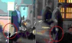 O deputado Rodrigo Rocha Loures (PMDB-PR) flagrado ao deixar estacionamento de pizzaria com mala com R$ 500 mil Foto: videodigital / Agência O Globo