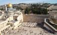 Muro Ocidental em Jerusalém