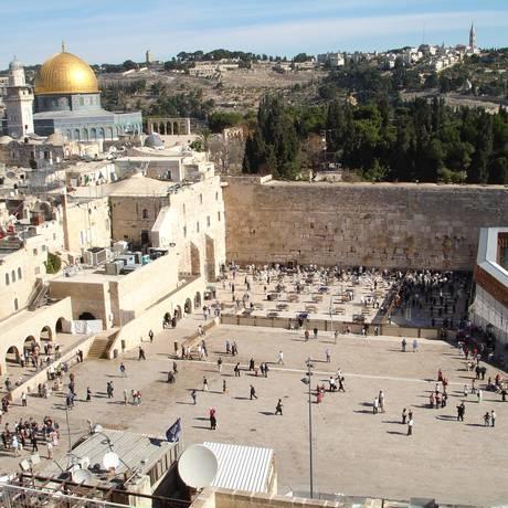 Muro Ocidental em Jerusalém Foto: Divulgação