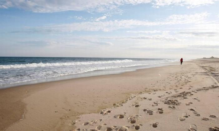 Cooper's Beach, em Southampton, Nova York Foto: Divulgação/Dr. Beach