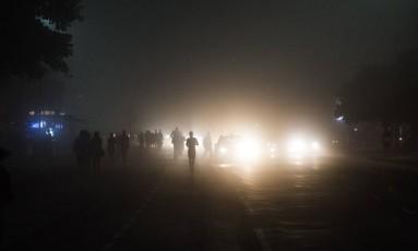 Condições metereológicas devem favorecewr a formação de nevoeiros até essa sexta-feira Foto: Guito Moreto / Agência O Globo