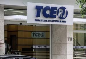 Tribunal de Contas do Estado do Rio Foto: Arquivo O Globo