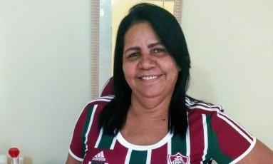 Marinete Menezes, de 55 anos, foi baleada na cabeça Foto: Reprodução/Facebook