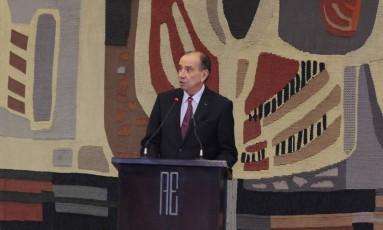 Ministro das Relações Exteriores, Aloizio Nunes Foto: Itamaraty