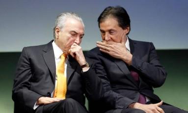 Fórum Investimentos Brasil 2017: O presidente Michel Temer Foto: Edilson Dantas / O Globo