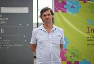 André Sturm, secretário de Cultura de São Paulo Foto: Marcos Alves / O Globo