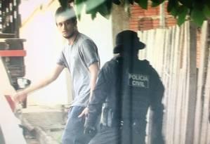 Marcelo de Souza Ferreira, de 25 anos, foi preso em casa por falso testemunho Foto: Divulgação