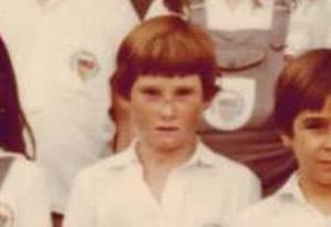 Foto de infância do carioca encontrado na Cracolândia de São Paulo Foto: Reprodução