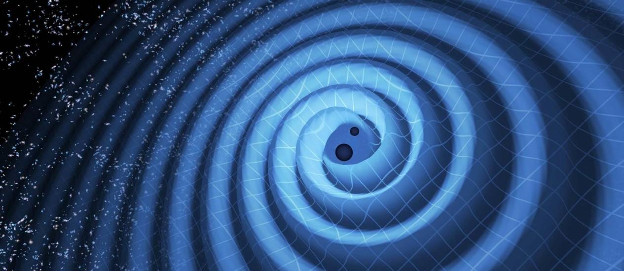 Resultado de imagem para planetas e ondas gravitacionais