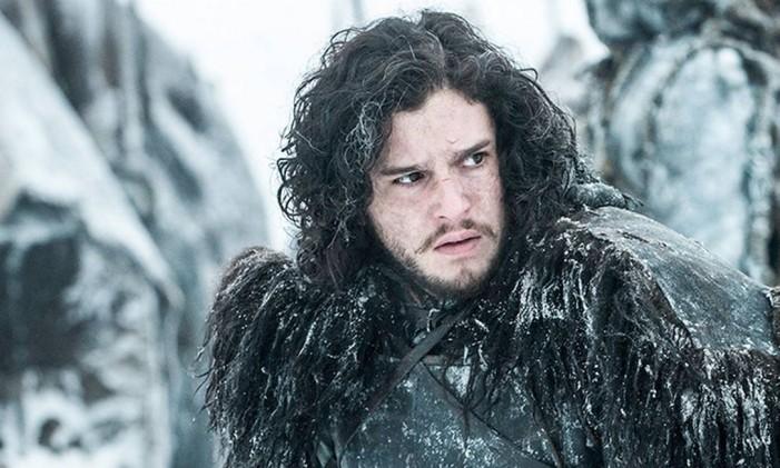 Jon Snow é interpretado por Kit Harington Foto: Reprodução