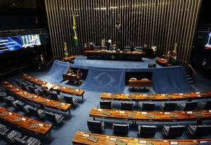 Plenário do Senado Foto: Givaldo Barbosa / Agência O Globo