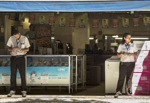 Comércio enfrenta realidade de lojas vazias. Foto Ana Branco / Agência O Globo