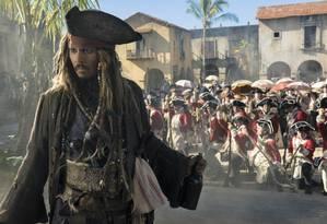 """""""Piratas do Caribe: A vingança de Salazar"""" liderou a bilheteria do fim de semana, mas teve a menor abertura da franquia Foto: Peter Mountain / Divulgação"""