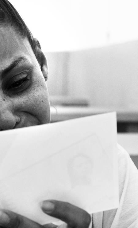 """Para """"Ausência"""", Nana Moraes registrou momento de emoção de uma mãe ao ler as palavras dos filhos Foto: Nana Moraes"""