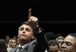 Deputado federal Jair Bolsonaro (PSC-RJ) Foto: Aílton de Freitas / Agência O Globo