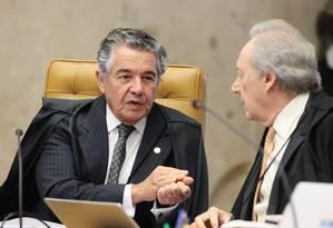 O ministro Marco Aurélio Mello Foto: Carlos Moura / STF / Divulgação