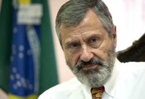 O novo ministro da Justiça, Torquato Jardim Foto: Jorge William / Agência O Globo / 1-6-2017