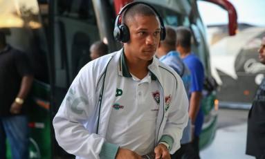 Wellington Silva está afastado do Fluminense por conta de uma pubalgia Foto: Lucas Merçon/Fluminense