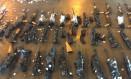 Fuzis apreendidos no aeroporto do Galeão valiam até R$ 70 mil Foto: Divulgação / PCERJ
