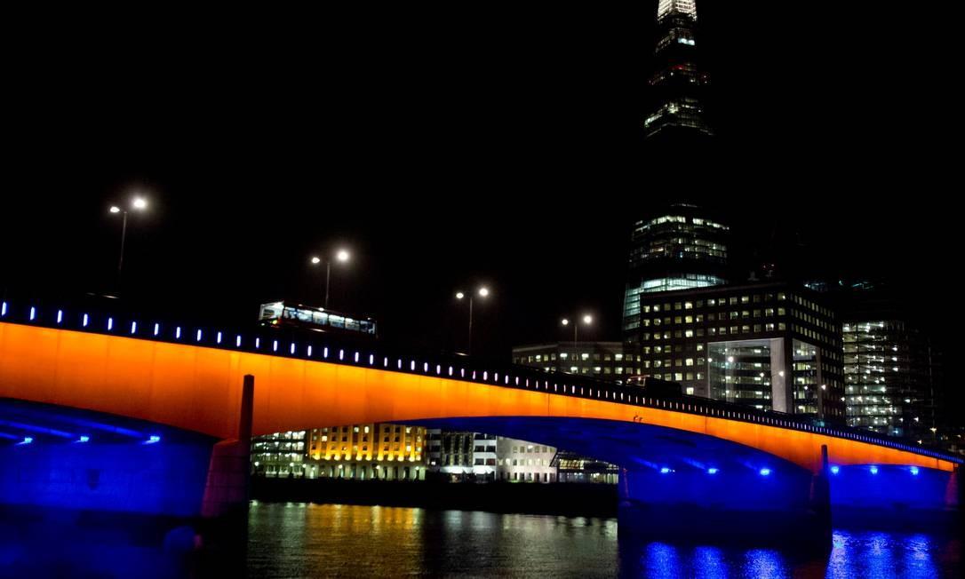 Ponte De Londres Foi A Primeira A Ser Construida Sobre O Rio