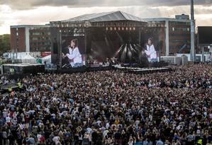Show da cantora Ariana Grande Foto: HANDOUT / REUTERS