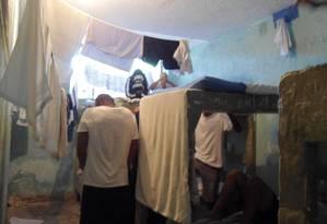 Uma das unidades do Degase Foto: Divulgação / Mecanismo Estadual de Prevenção e Combate à Tortura da Alerj