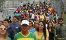 Mais de 11,7 milhões de pessoas foram transportadas durante os Jogos Olímpicos do Rio Foto: Marcelo Theobald / Agência O Globo