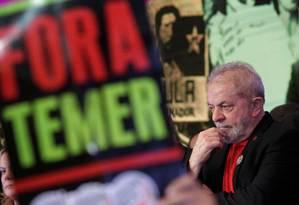 O ex-presidente Luiz Inácio Lula da Silva Foto: UESLEI MARCELINO / REUTERS 1/06-2017