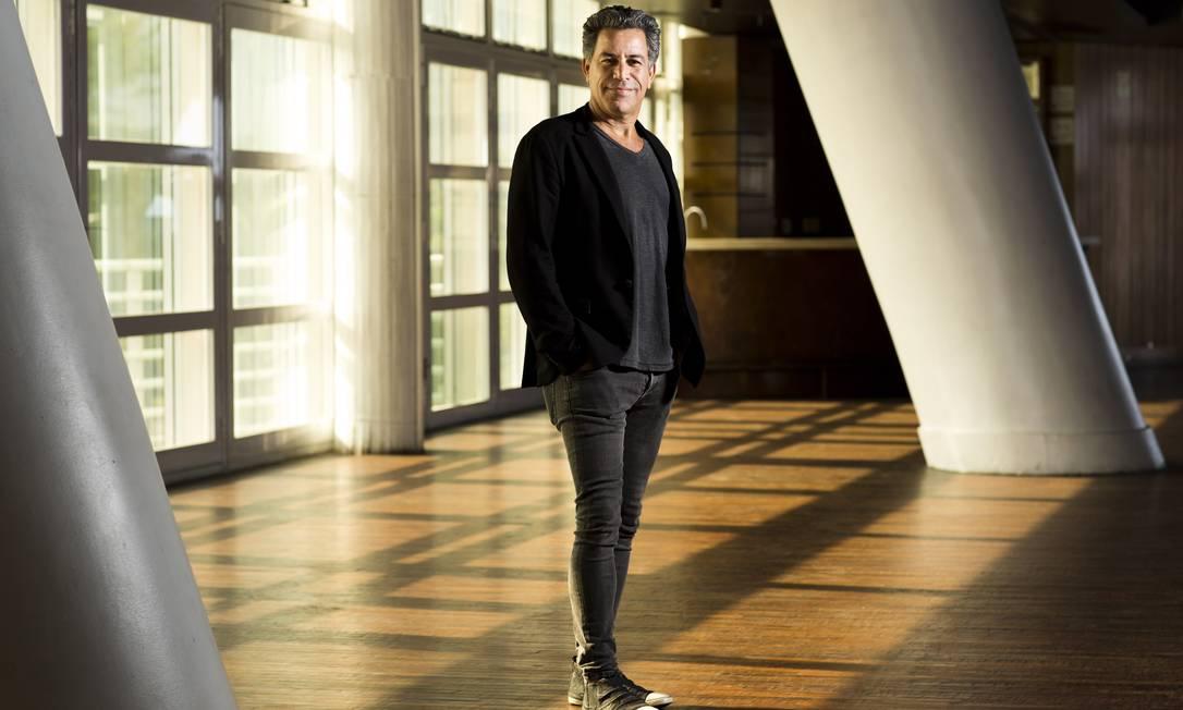 Empreendedor. empresario Luiz Andre Calainho, que esta trazendo o clube nova-iorquino Blue Note Foto: Monica Imbuzeiro