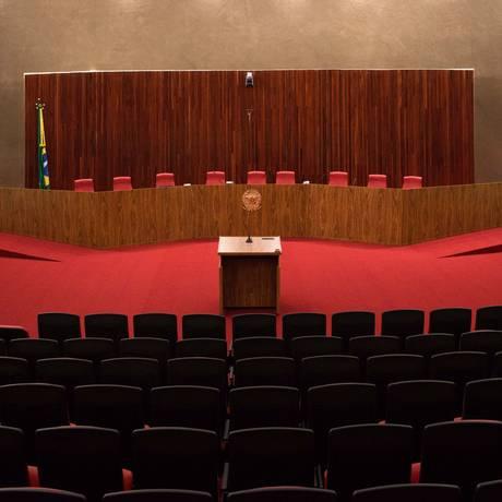 Plenário do Tribunal Superior Eleitoral (TSE) Foto: DANIEL TEIXEIRA / Estadão conteúdo