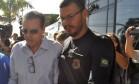 O ex-ministro Henrique Eduardo Alves, preso pela PF em sua casa em Natal (RN) Foto: Estadão Conteúdo