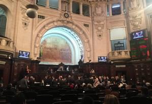 Projeto de teto de gastos foi aprovado na Alerj Foto: Selma Schmidt / Agência O Globo