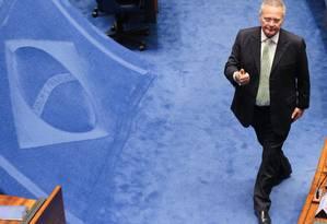O Senador Renan Calheiros (PMDB-AL) Foto: André Coelho / Agência O Globo
