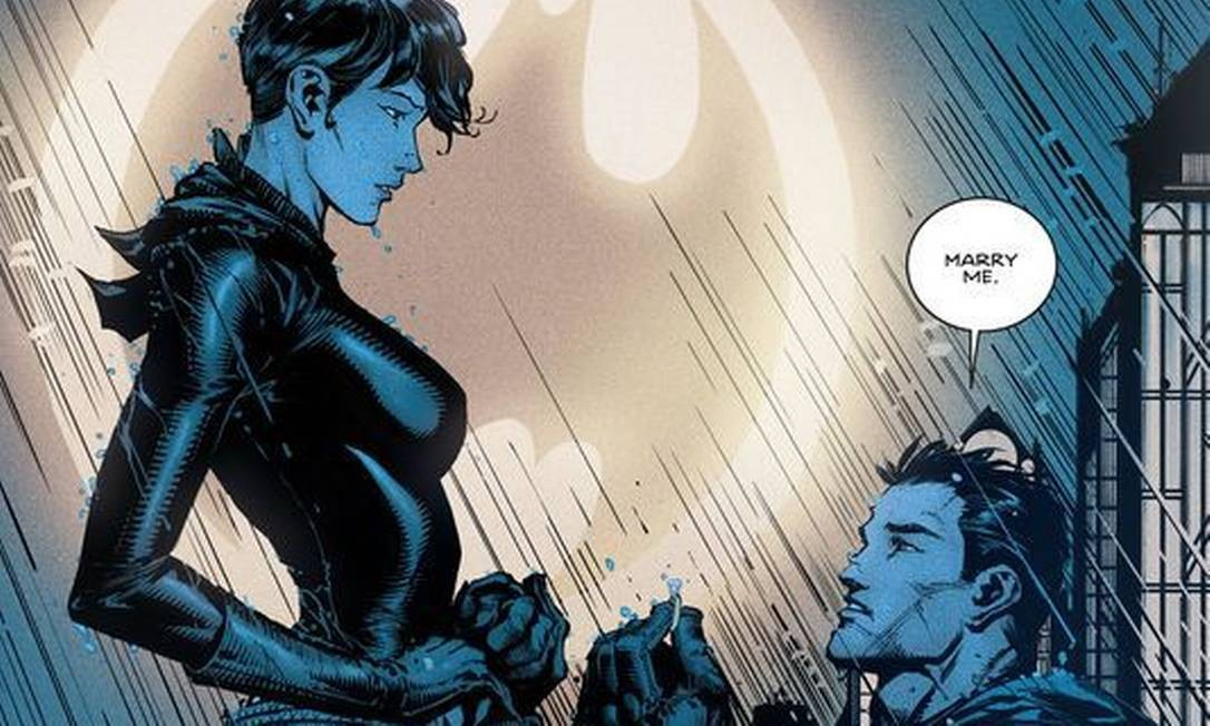 Na saga 'Renascimento', Batman pede Mulher-gato em casamento ...