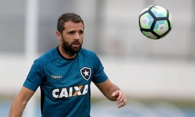 Montillo em treino do Botafogo Foto: Satiro Sodré/SSPress Botafogo