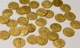 Moedas de ouro foram usadas pelos romanos para comprar apoio militar